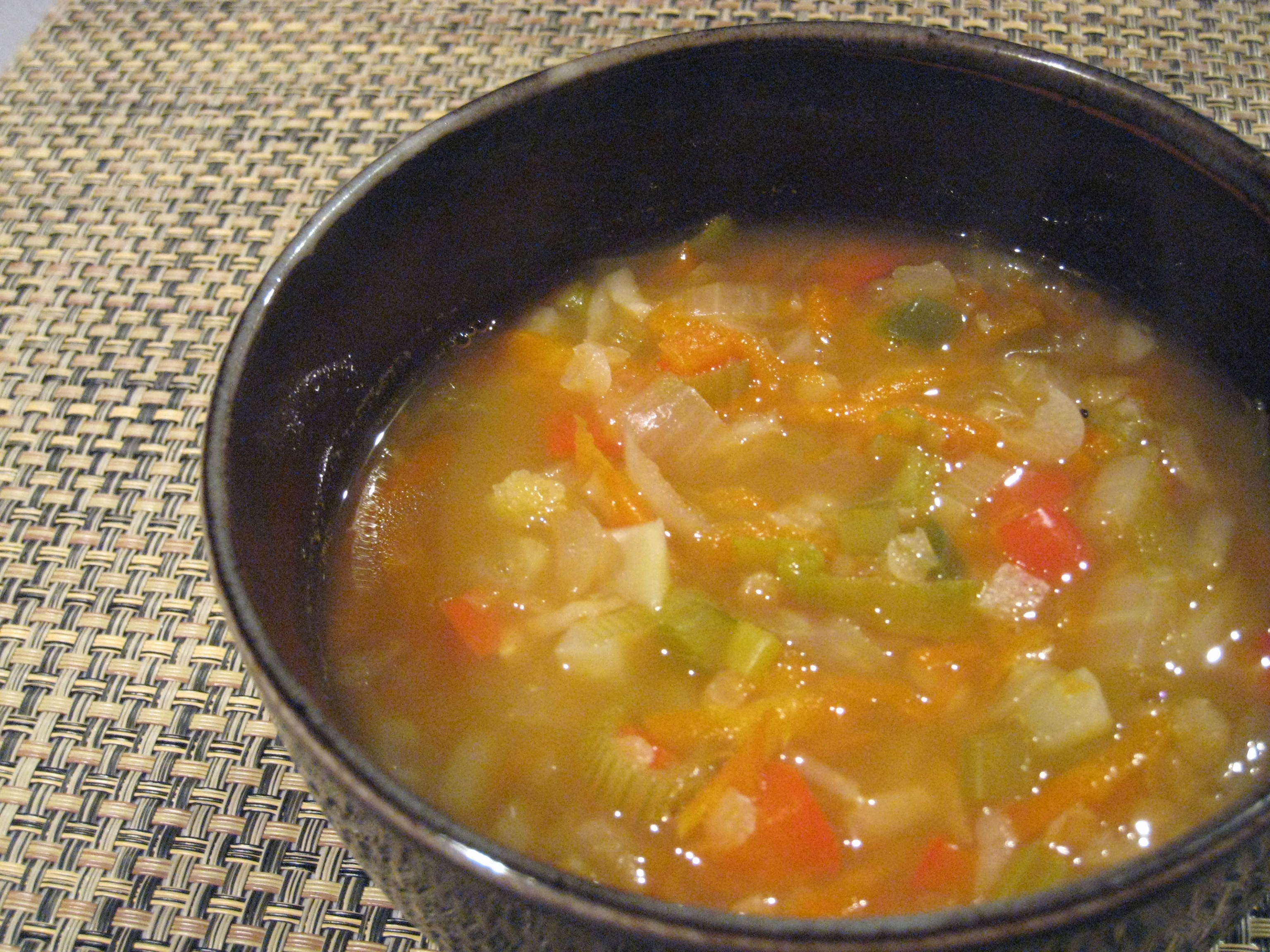 Lentil Vegetable Soup with Yogurt | Trust in Kim (she will guide thee)