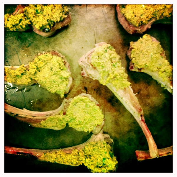Lamb Chops with Pistachio Tapenade | Trust in Kim (she will guide thee ...