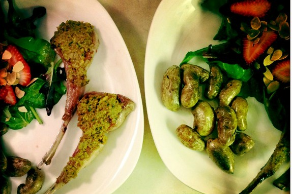 fried lamb chops | Trust in Kim (she will guide thee)