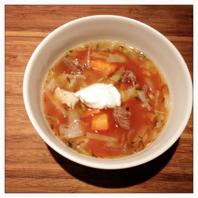 Mennonite cabbage borscht - trust in kim