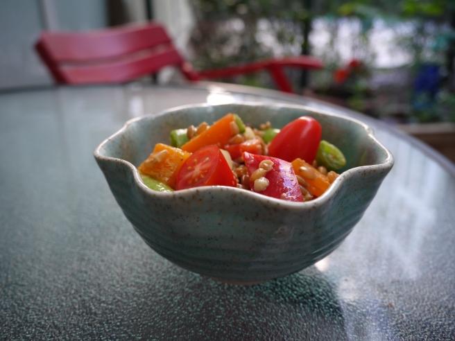 kamut salad - trust in kim