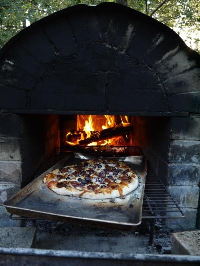 brick oven pizza - trust in kim
