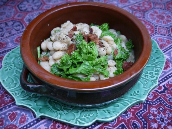 cannellini beans and kale - trust in kim