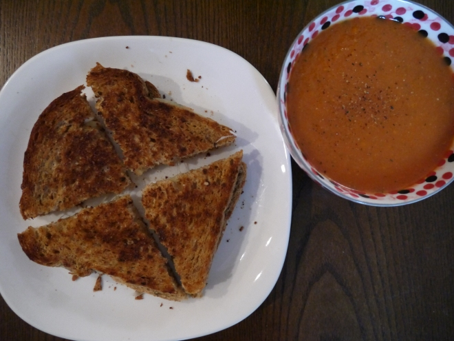 grilled cheese sandwich - trust in kim