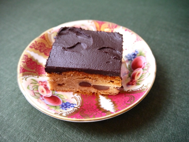 peanut butter brownie - trust in kim