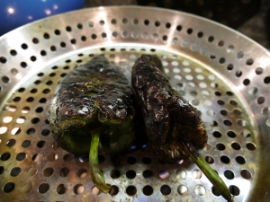 roasting poblano peppers - trust in  kim