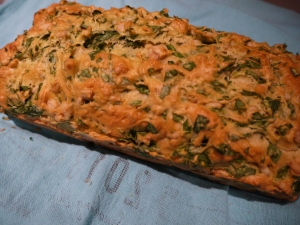 arugula and pine nut bread - trust in kim