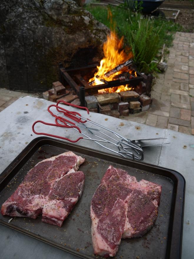 porterhouse steak - trust in kim