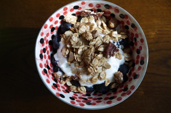 yogurt, fruit and granola - trust in kim
