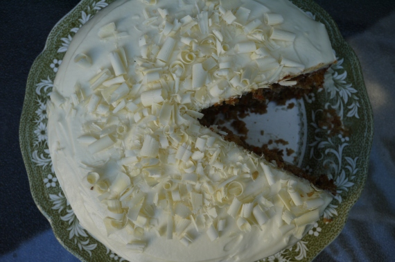 coconut carrot cake - trust in kim