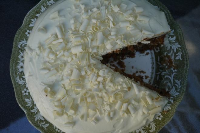 coconut carrot cake - trust in kim