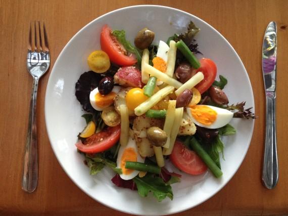 nicoise salad - trust in kim