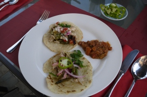 homemade tacos - trust in kim