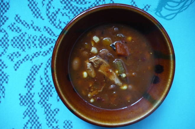 roasted pepper and tomato soup - trust in kim