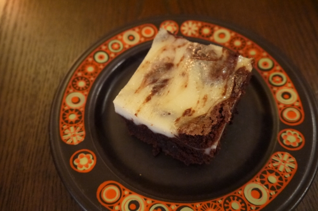 chocolate and cream cheese brownie - trust in kim