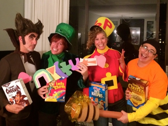 cereal box character halloween costume - trust in kim