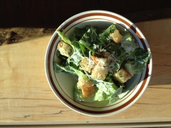 jamie oliver caesar salad - trust in kim