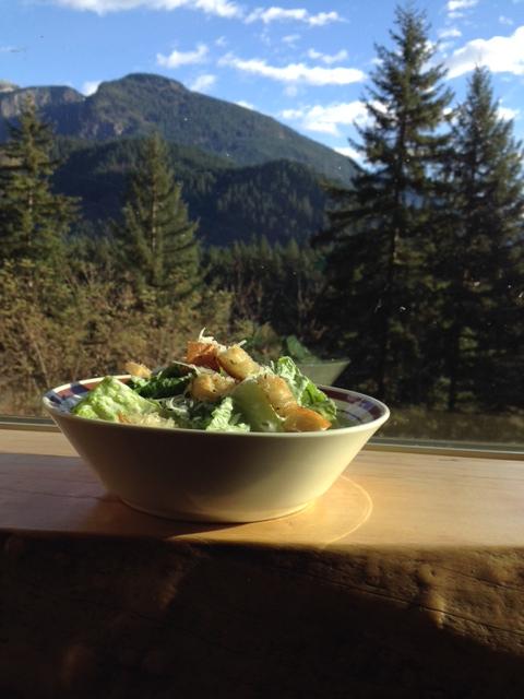 caesar salad light - trust in kim