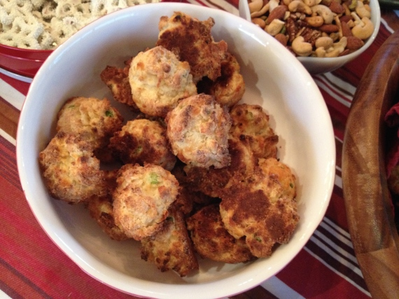 cheddar chive biscuits - trust in kim