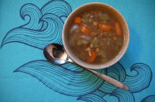 lentil soup - trust in kim