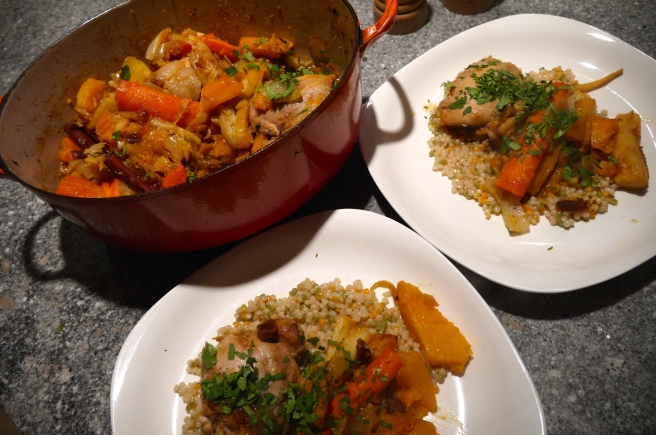 chicken and vegetable tagine - trust in kim