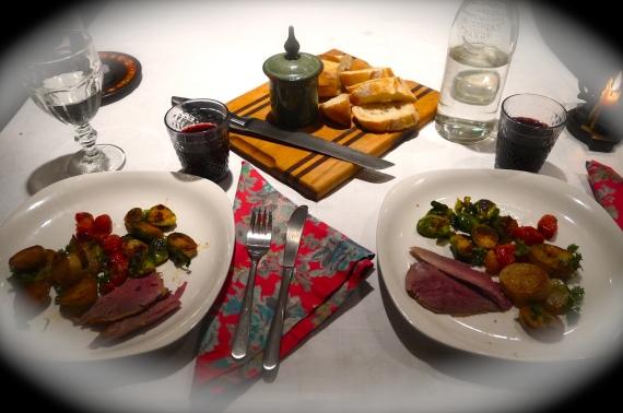 roast duck dinner - trust in kim