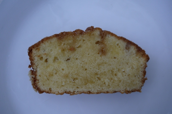 salted caramel pound cake - trust in kim