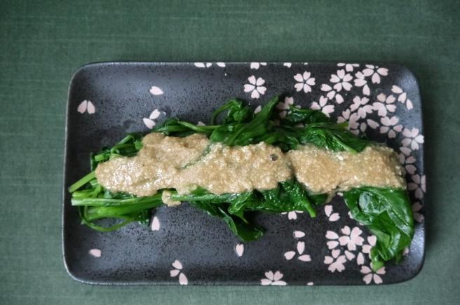 spinach gomae-ae - trust in kim