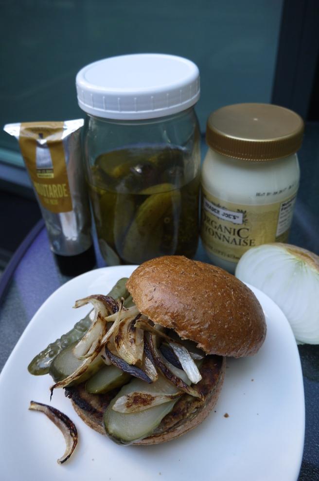 veggie burger - trust in kim