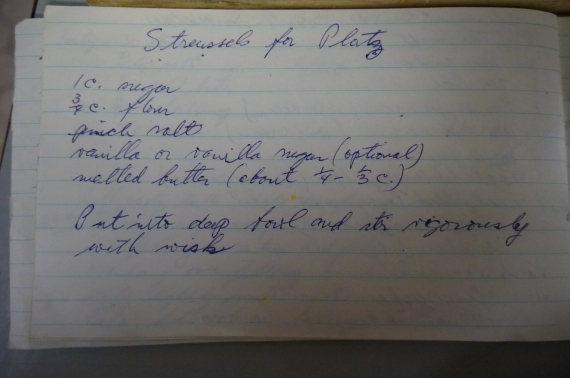 streusel recipe - trust in kim