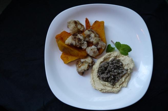 Hummus kawarma (lamb) with Lemon Sauce - trust in kim