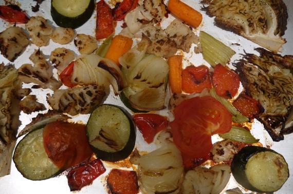 Armenian Roasted Vegetables - trust in kim
