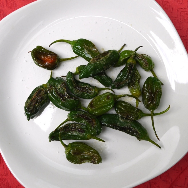 padron peppers - trust in kim