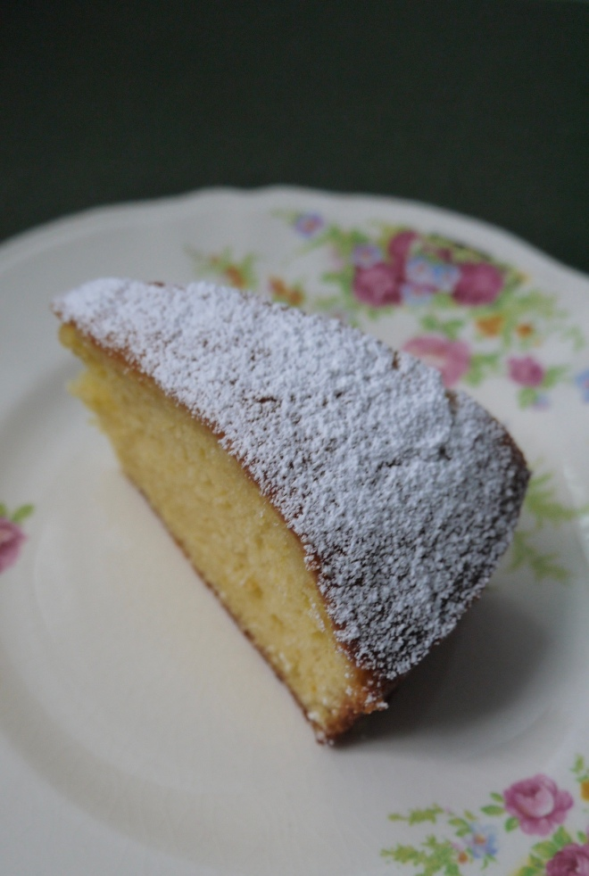 French Lemon Yogurt Cake - trustinkim