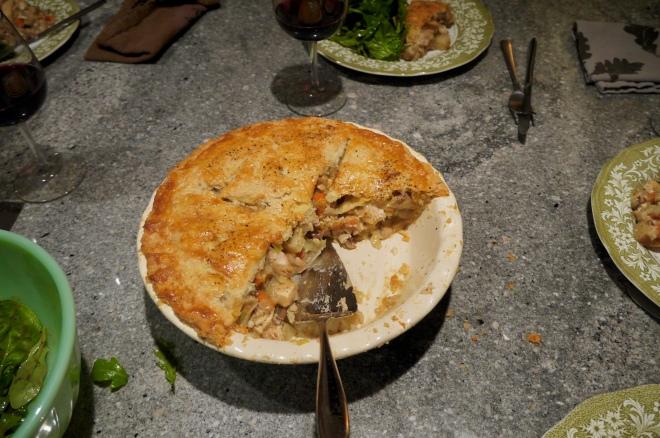 chicken and vegetable pie - trustinkim