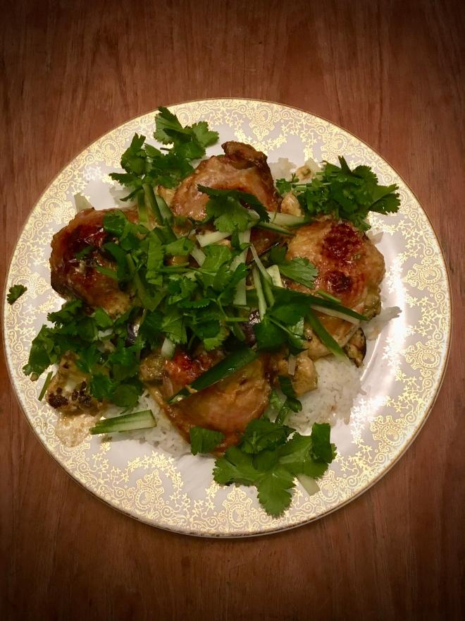 green thai cury chicken - trustinkim