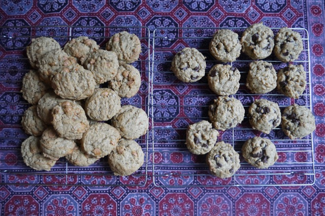 Butterscotch and Chocolate Chip Cookies - trustinkim