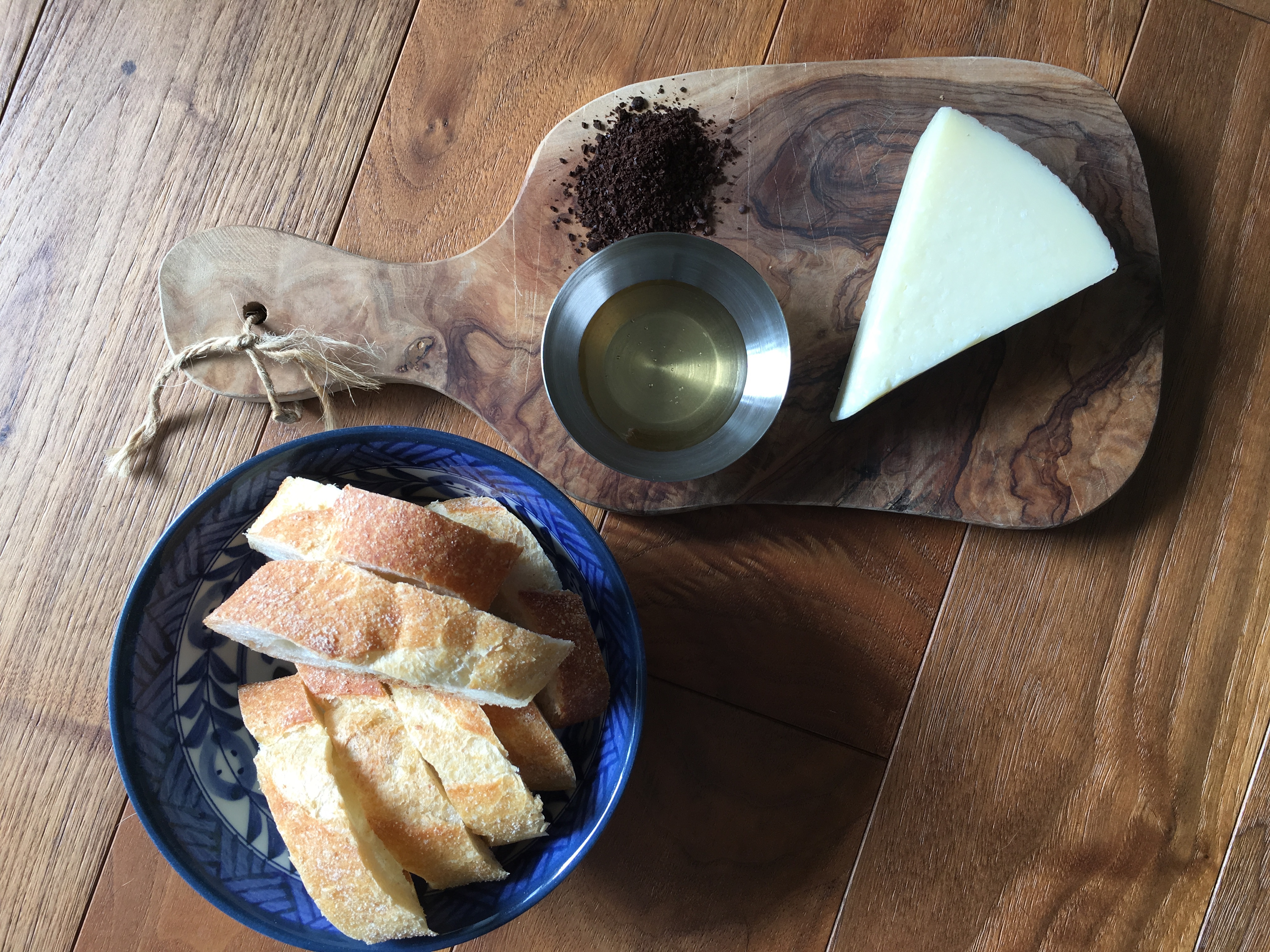 manchego cheese appetizer - trust in kim
