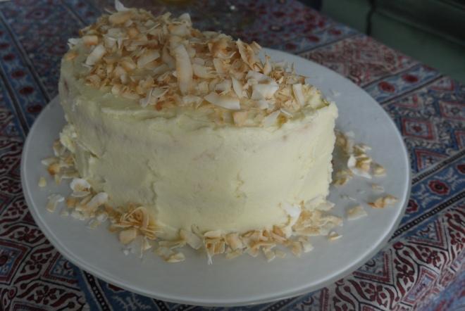 Vanilla Birthday Cake - trustinkim