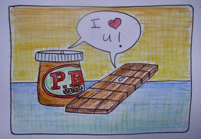 pb & chocolate match made in heaven - trustinkim.com