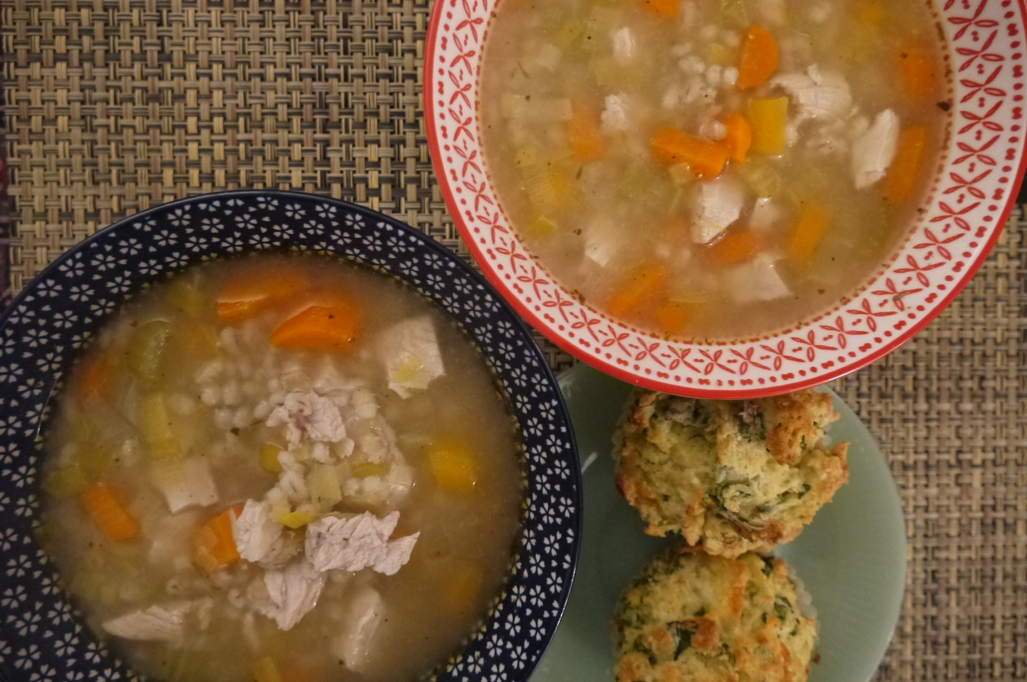 turkey barley soup - trustinkim.com